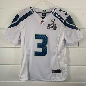Russell Wilson NFL super bowl jersey// #3